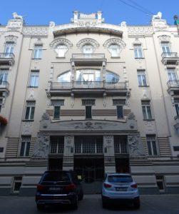 Immeuble Art Nouveau à Riga